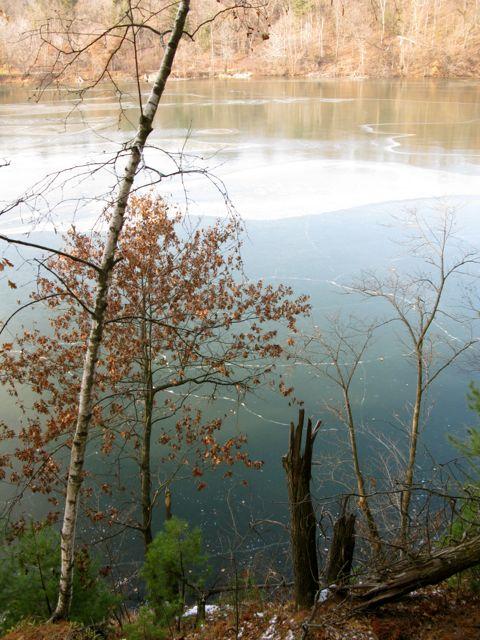 Halfmoon Lake i Carson Park