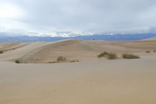 Anders udforsker Mesquite Dunes