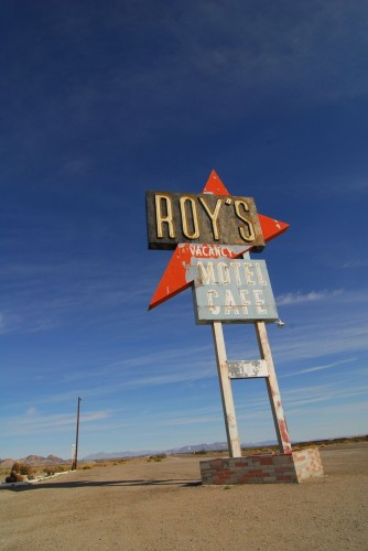 Roy's Motel, vaskeægte Route-66-americana.