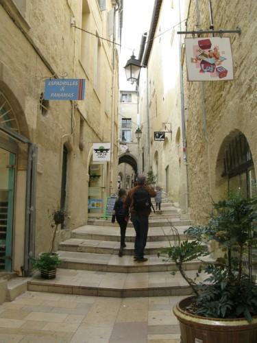 Wandering around in Montpellier.