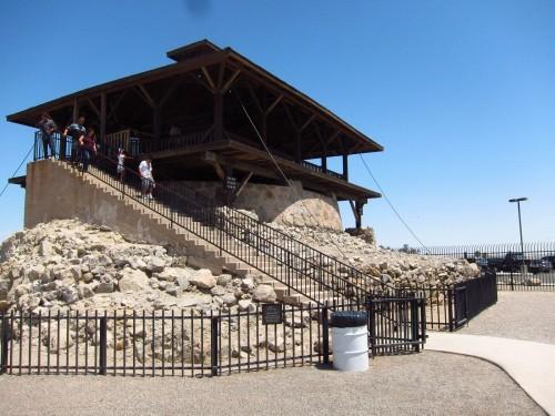Hovedvagttårnet i Yumas gamle fængsel.
