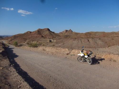 På vej mod Picacho State Park.