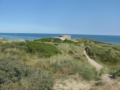 A bunker from the second world war.