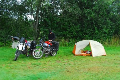 Sidste fælles camping i denne omgang.