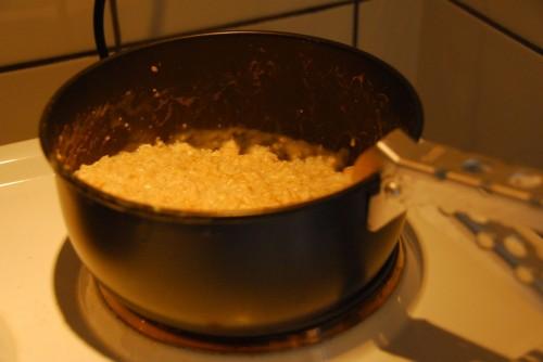 Og sidste portion havregrød.