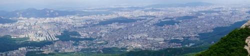 Seoul er en stor by...