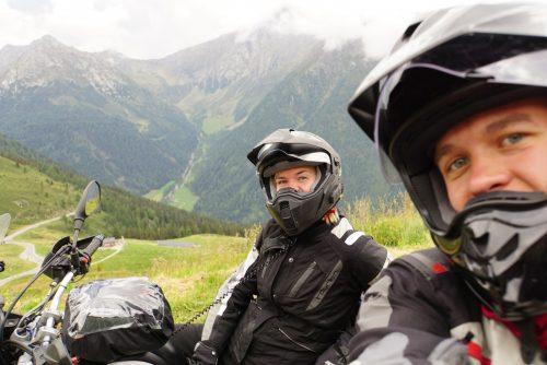Selfie-tid i Alperne.