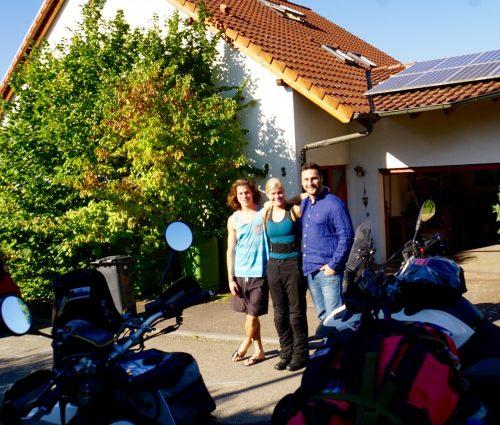 To festlige og helt gennemførte tyske værter. Tak Jani og Nefi!
