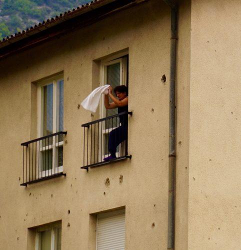 Skudhuller var bestemt ikke et ualmindeligt syn i Bosnien.
