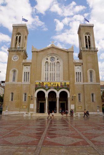 En af de mange meget smukke græsk ortodokse kirker.