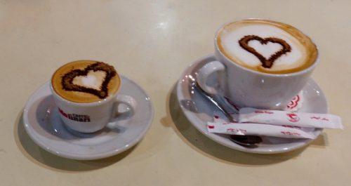 Cafe-kaffe med den venlige taxachauffør Mahmood.