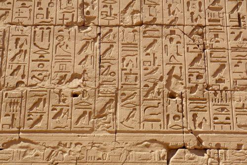 Hieroglyffer.