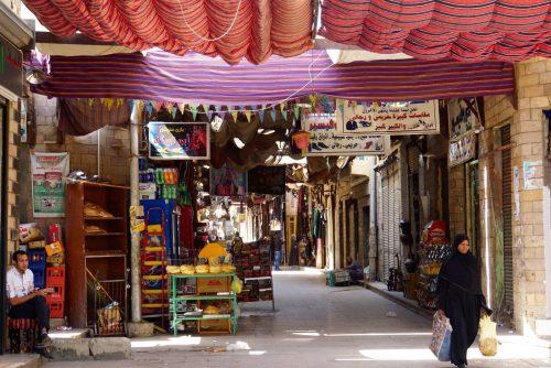 Bazar i Aswan.