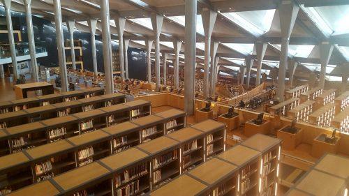 Biblioteket i Alexandria - ikke noget at skrive hjem om.