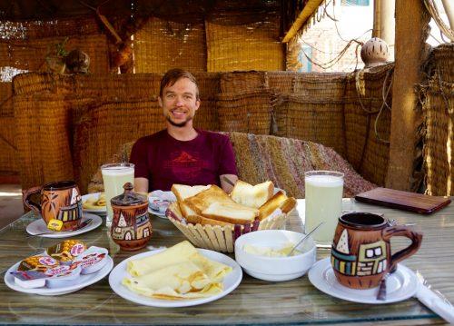 Lækker fyr, lækker morgenmad.