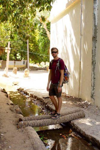 En af dagene tog vi over og vandrede på Elefantine Island.
