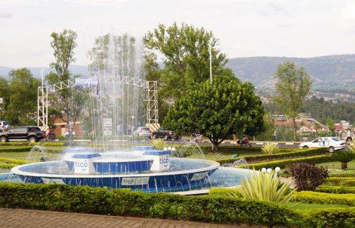 Centrum i Kigali.