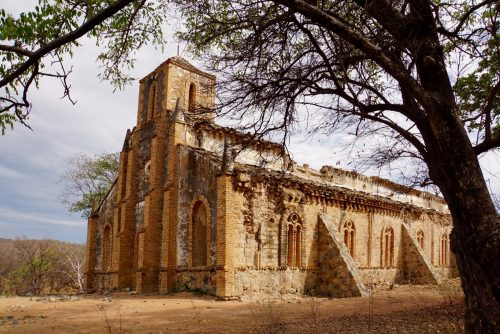 Ruinen efter Kipili Mission (1895).